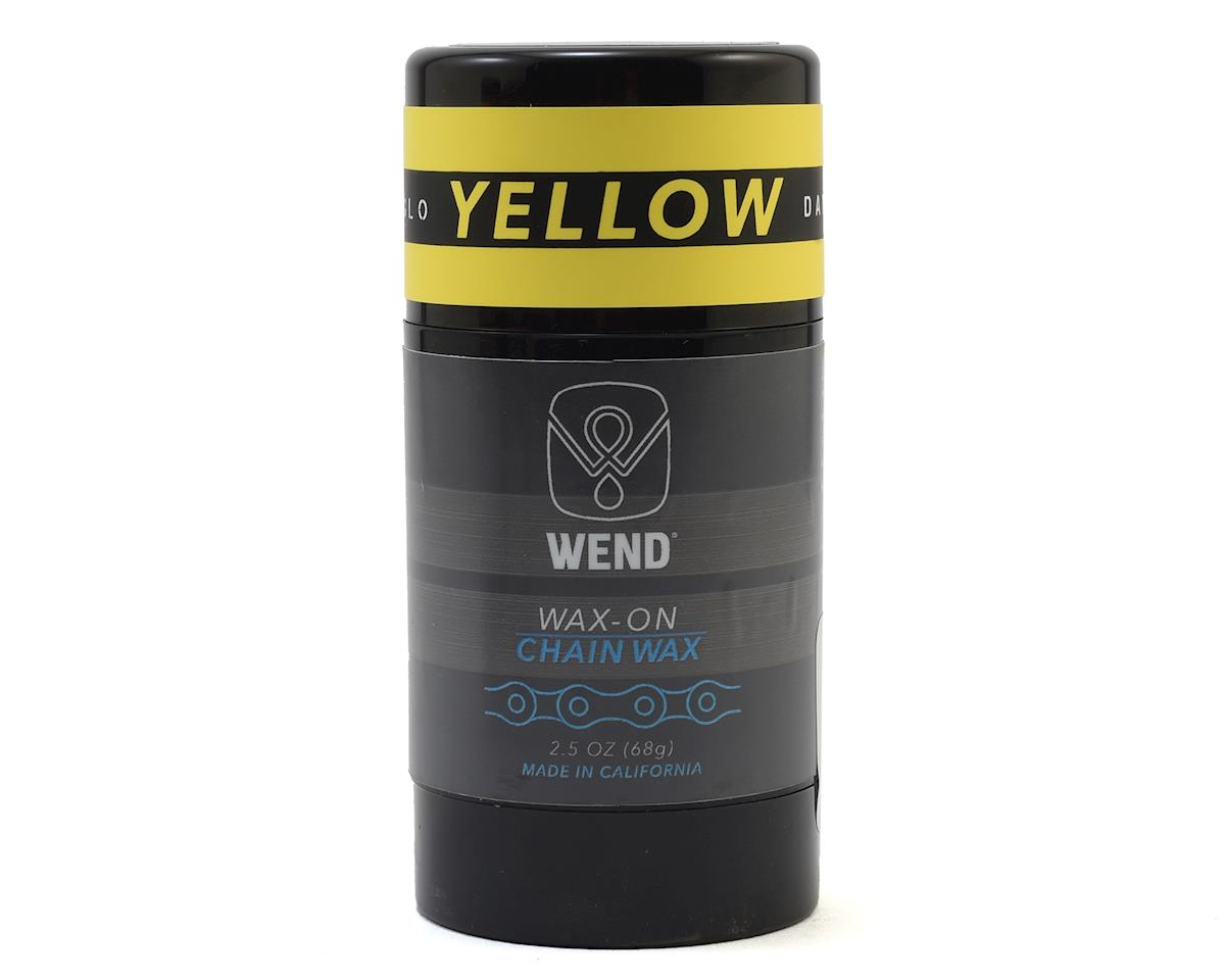 Wend Wax-On Chain Lube (Yellow) (2.5oz/80ML)