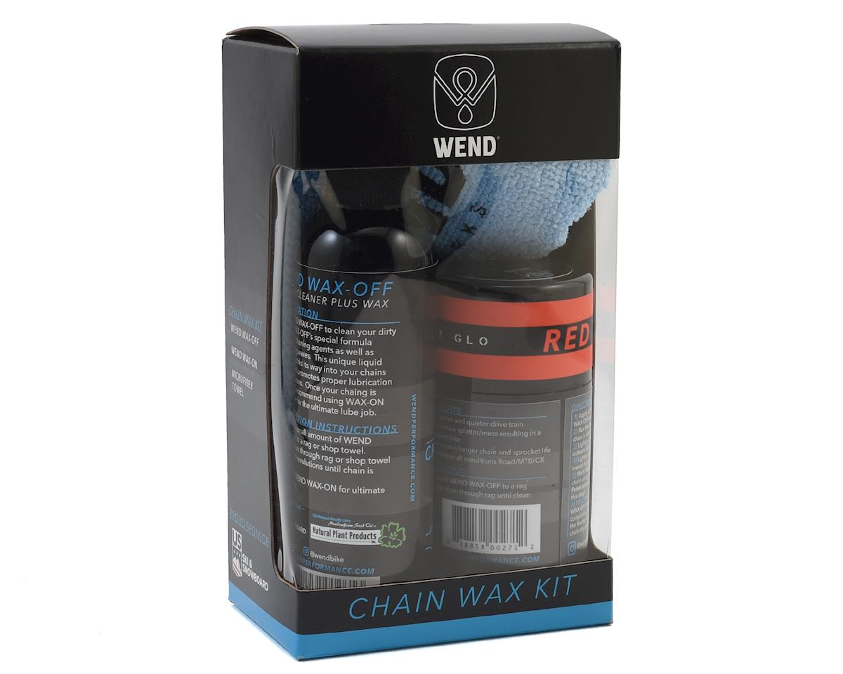 Wend Chain Wax Kit (Red)