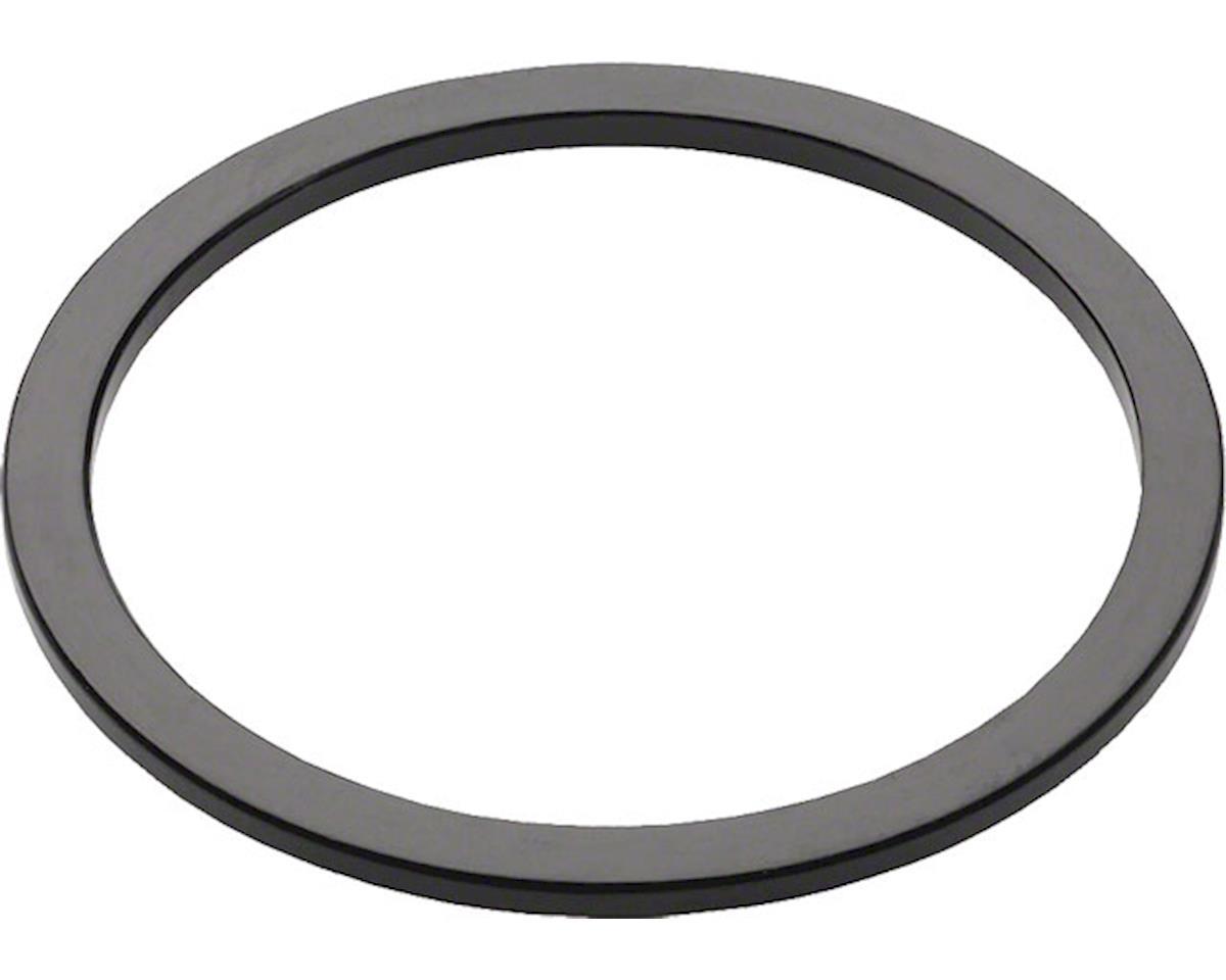 NEW Wheels Manufacturing 1.8mm Black Aluminum Bottom Bracket Spacer