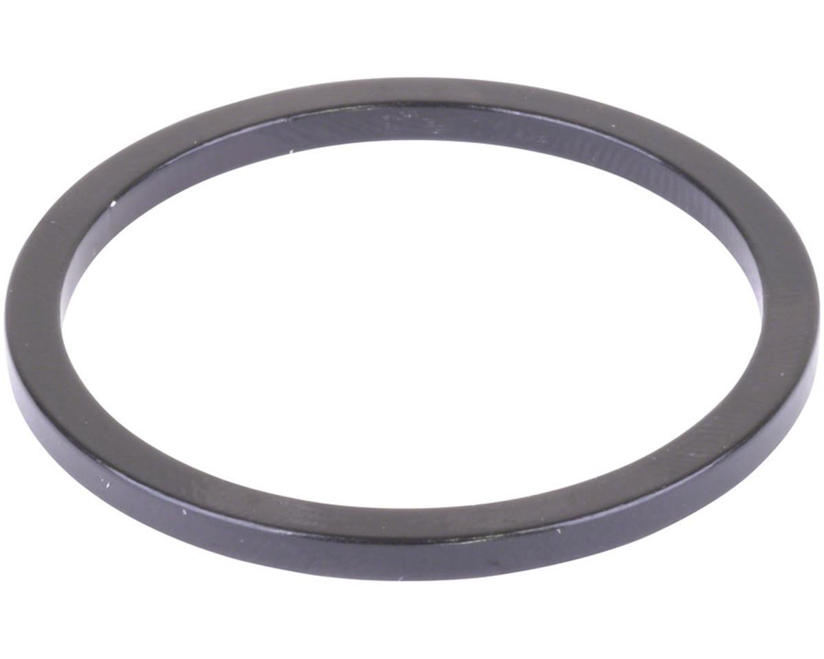 Wheels Manufacturing Black Aluminum Bottom Bracket Spacer (2.5mm)