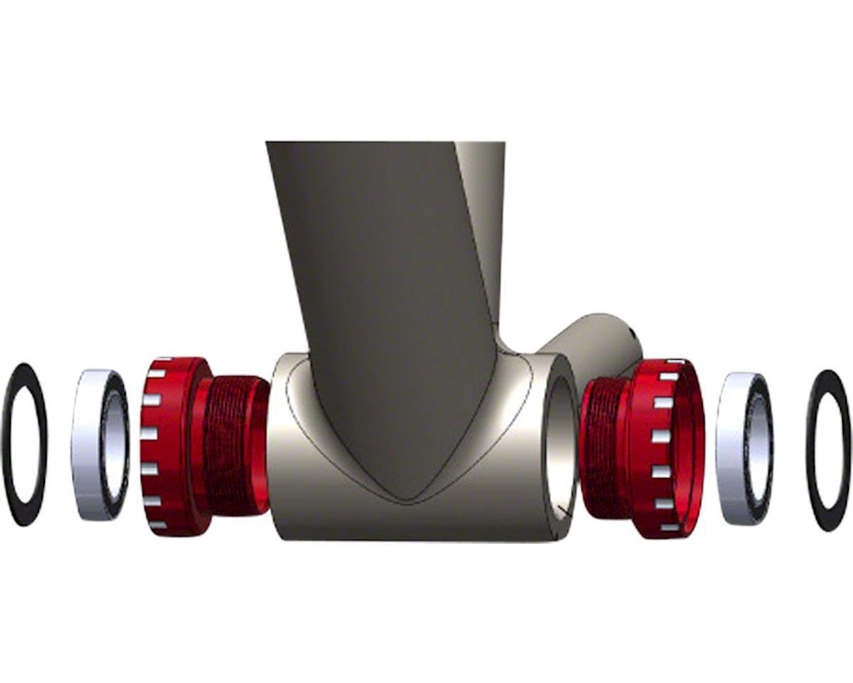 Wheels Manufacturing Shimano MTB Bottom Bracket (Black Cups)