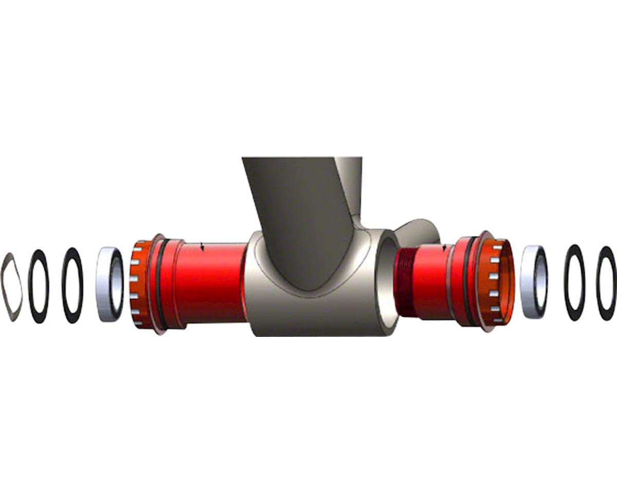 Wheels Manufacturing BB30 to Shimano Bottom Bracket (Red Cups)