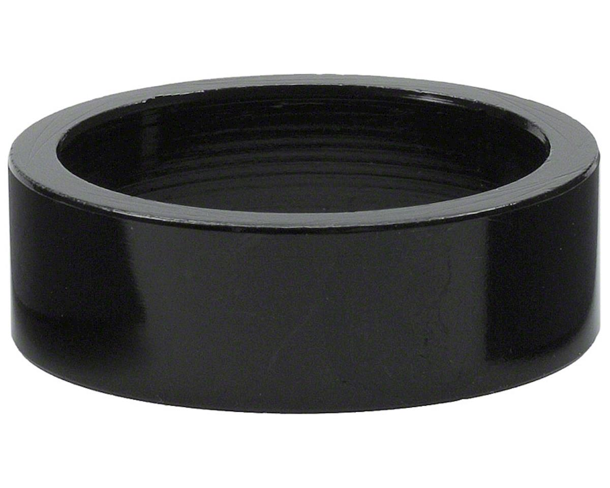 "Wheels Manufacturing 1"" Headset Spacer (Black) (10mm)"