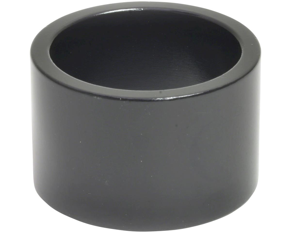"Wheels Manufacturing 1"" Headset Spacer (Black) (20mm)"