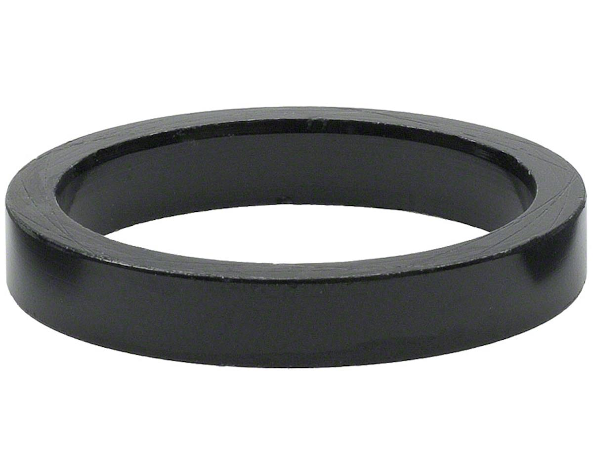 "Wheels Manufacturing 1"" Headset Spacer (Black) (5) (5mm)"