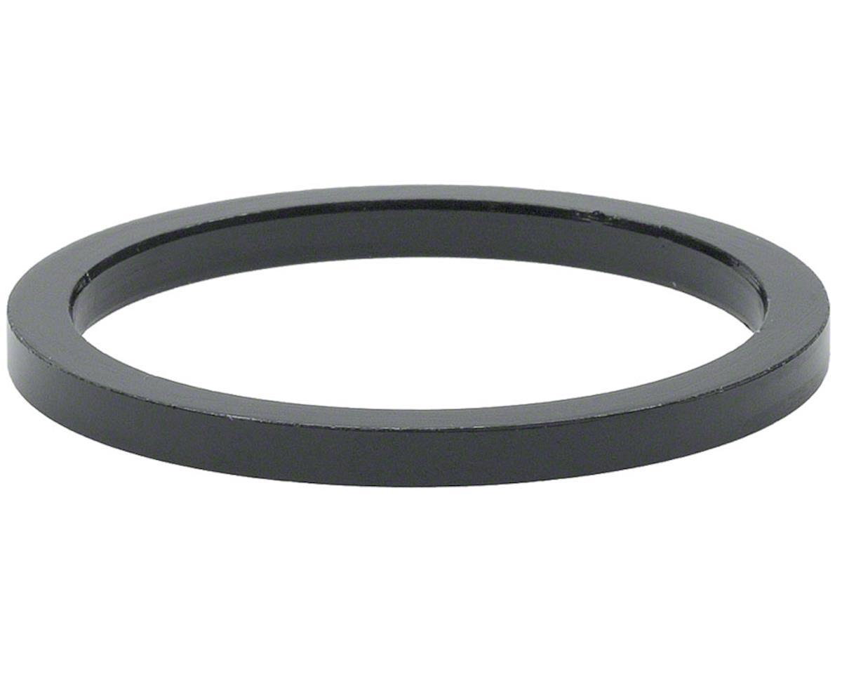 "Wheels Manufacturing 1 1/8"" Headset Spacer (Black) (Bag of 5) (2.5mm)"