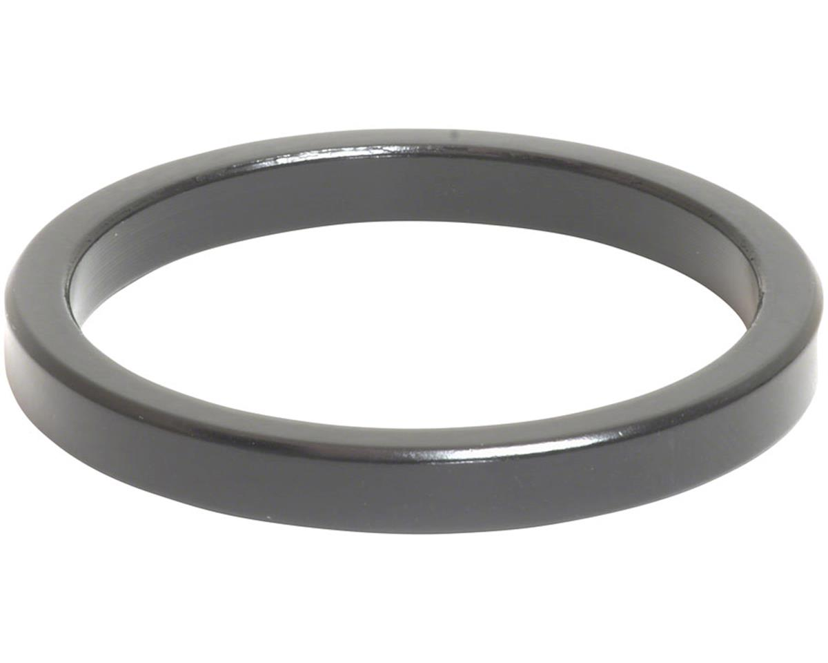 "Wheels Manufacturing 1 1/2"" Headset Spacer (Black) (5mm)"