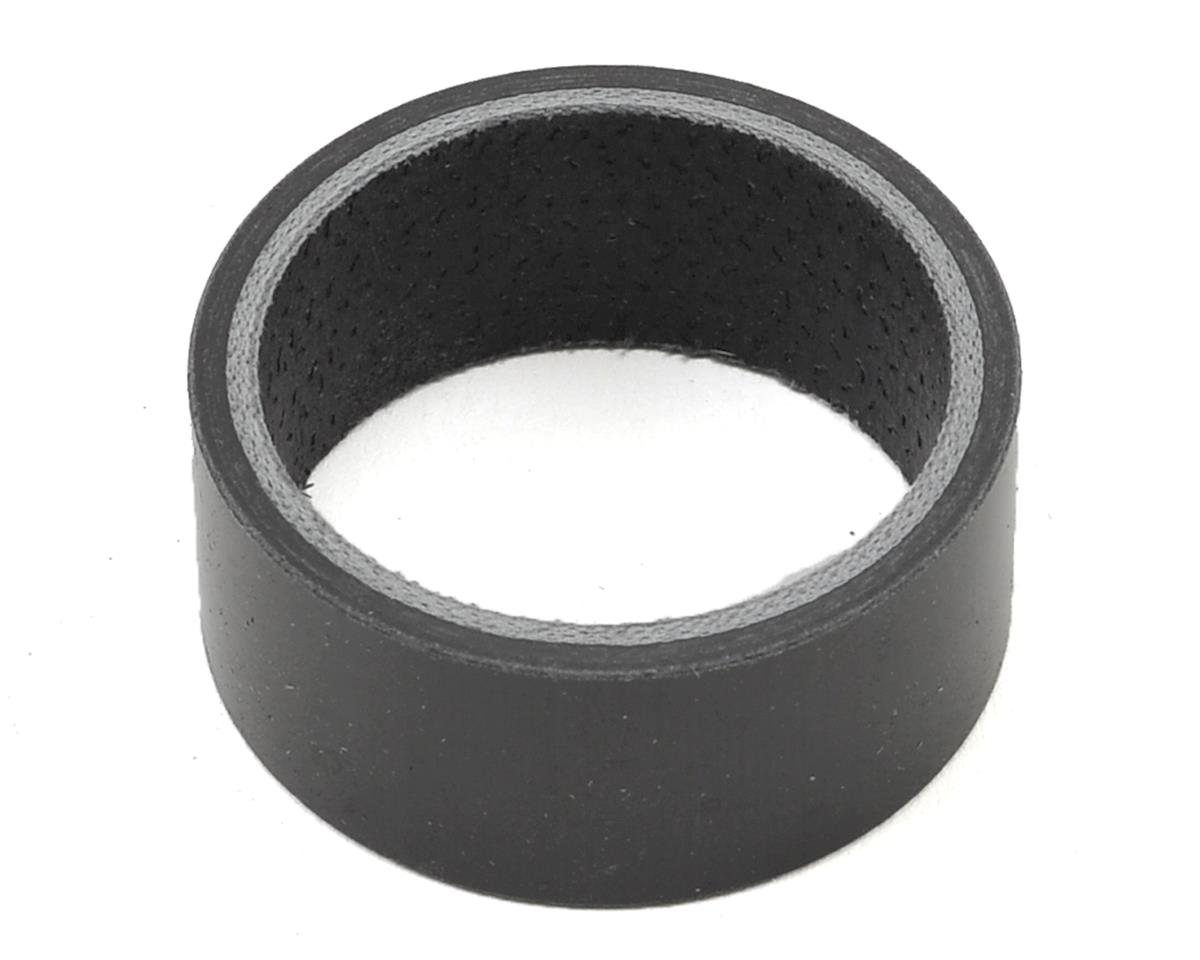 "Wheels Manufacturing 1 1/8"" Carbon Headset Spacer (Single) (15mm)"