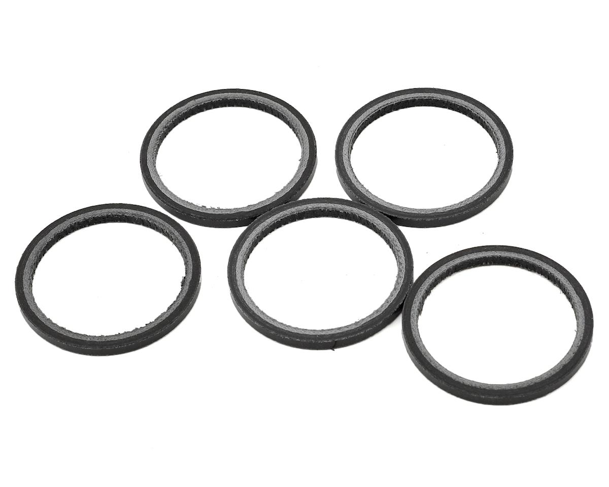 Wheels Manufacturing 2.5mm 1 1/8 Carbon Headset Spacer (Bag of 5)