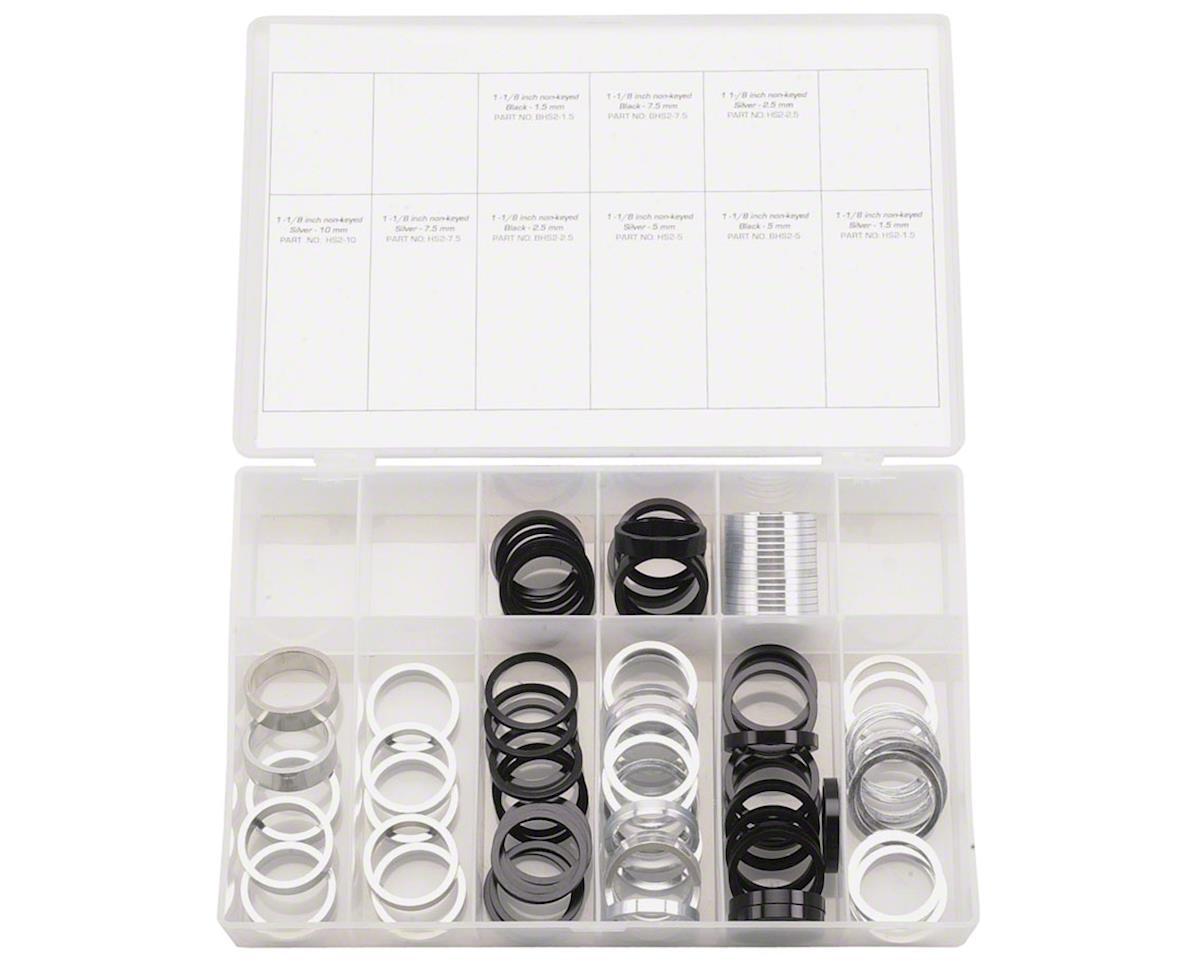 """Wheels Manufacturing 1-1/8"""" Headset Spacer Kit 103 Pieces"""