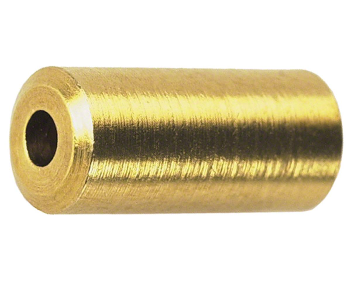 Wheels Manufacturing Housing End Caps (Brass) (Bottle of 50) (4mm)