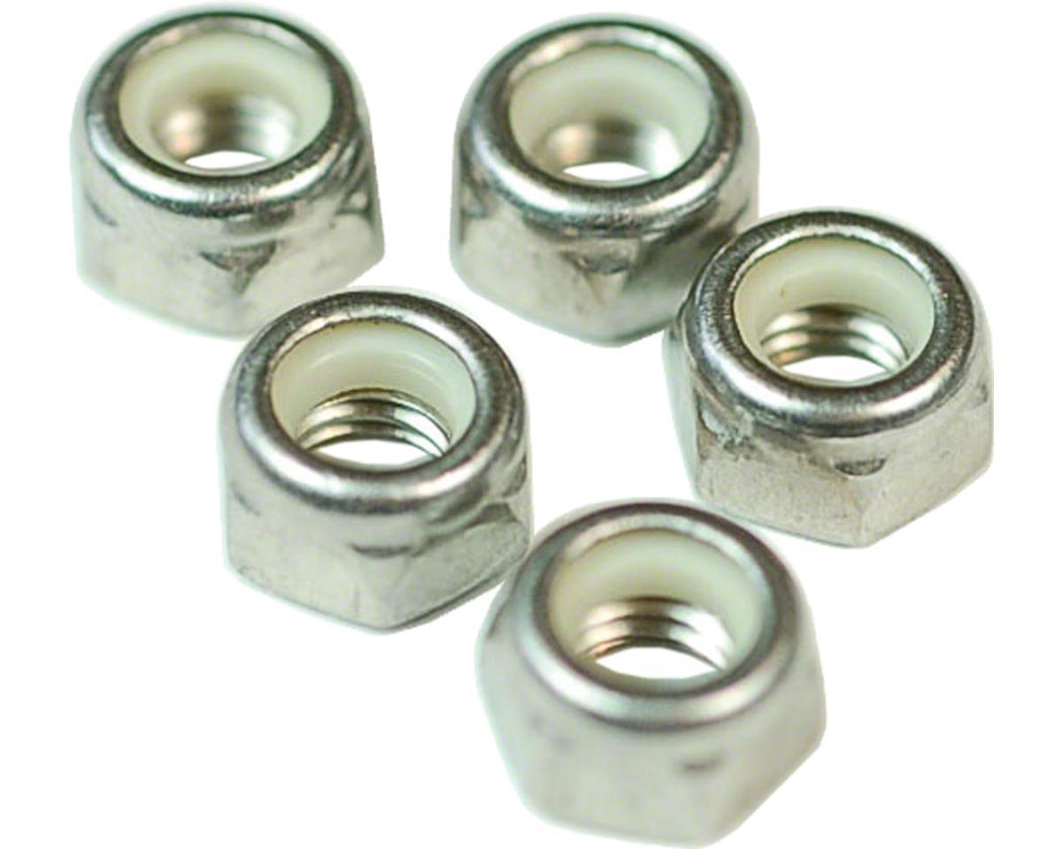 M5 Nylock Hex Nut Stainless Steel Bottle/100