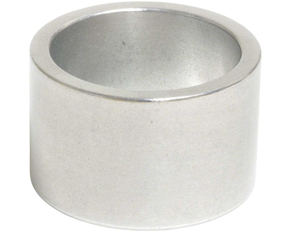 """Wheels Manufacturing 1"""" Headset Spacer (Silver) (20mm)"""