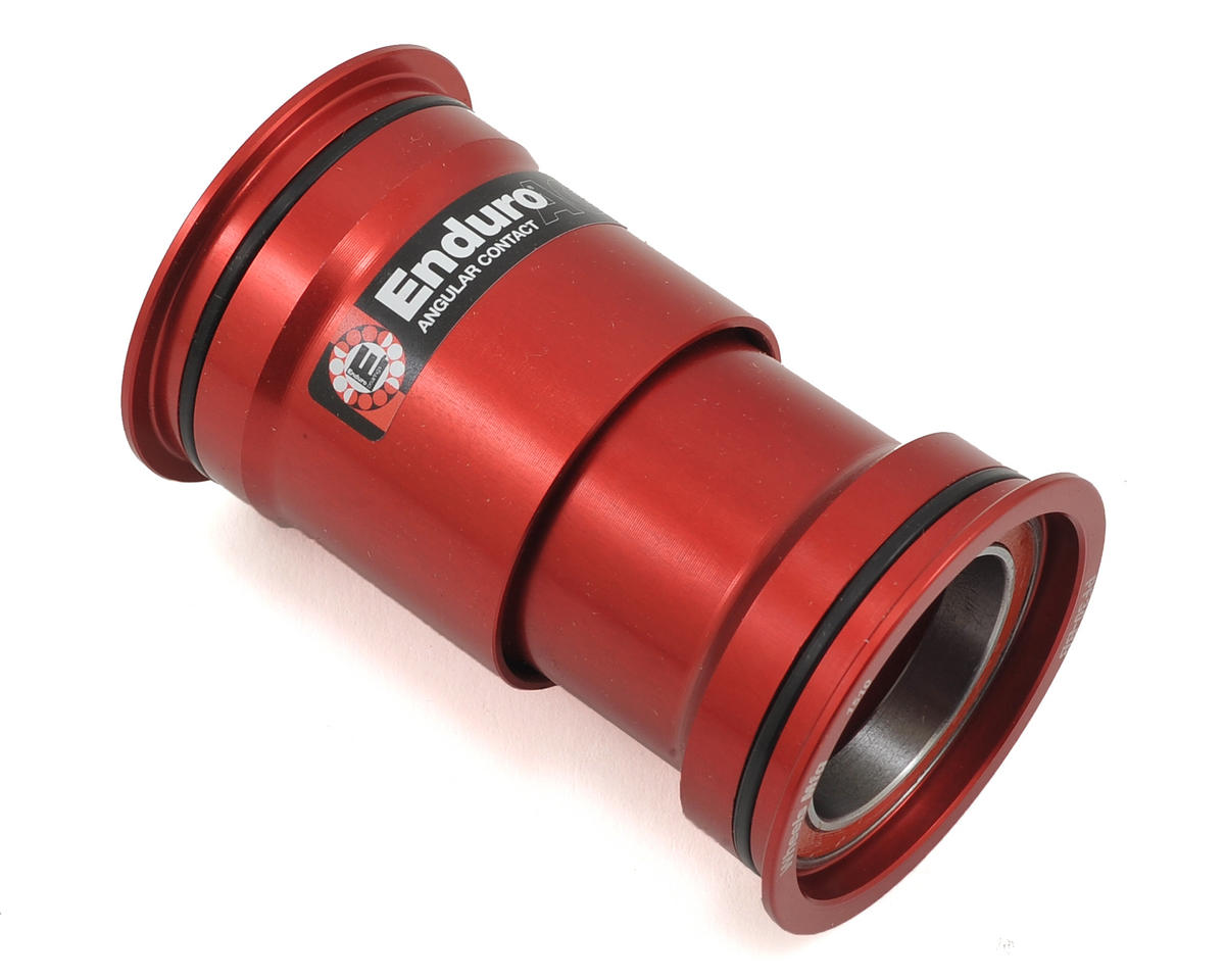 Wheels Manufacturing PF30 Bottom Bracket With Angular Contact Bearings (Red)