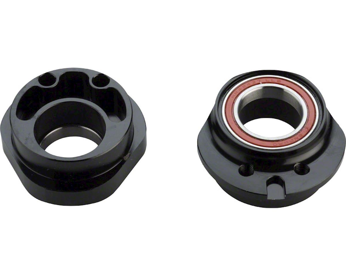 Wheels Manufacturing PF30 Eccentric Bottom Bracket (Black) (24mm Spindle)