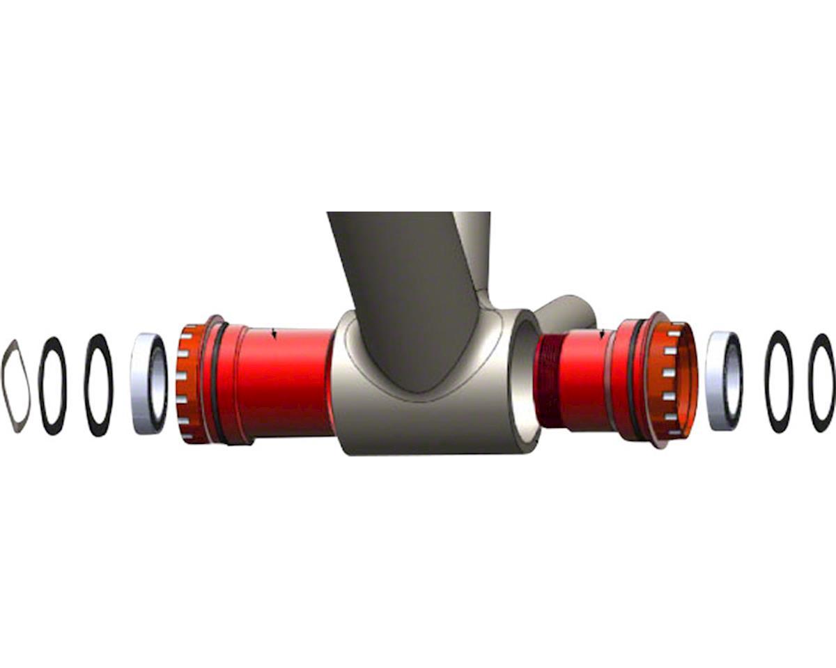 Wheels Manufacturing PF30 Bottom Bracket (Black) (24mm Spindle)