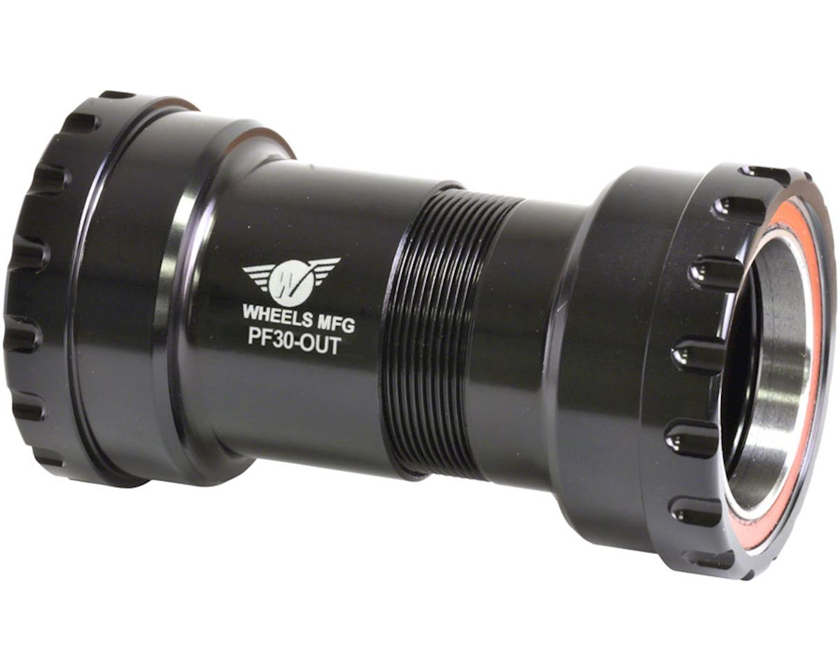 Wheels Manufacturing PF30 Outboard Bottom Bracket (Black) (30mm Spindle)