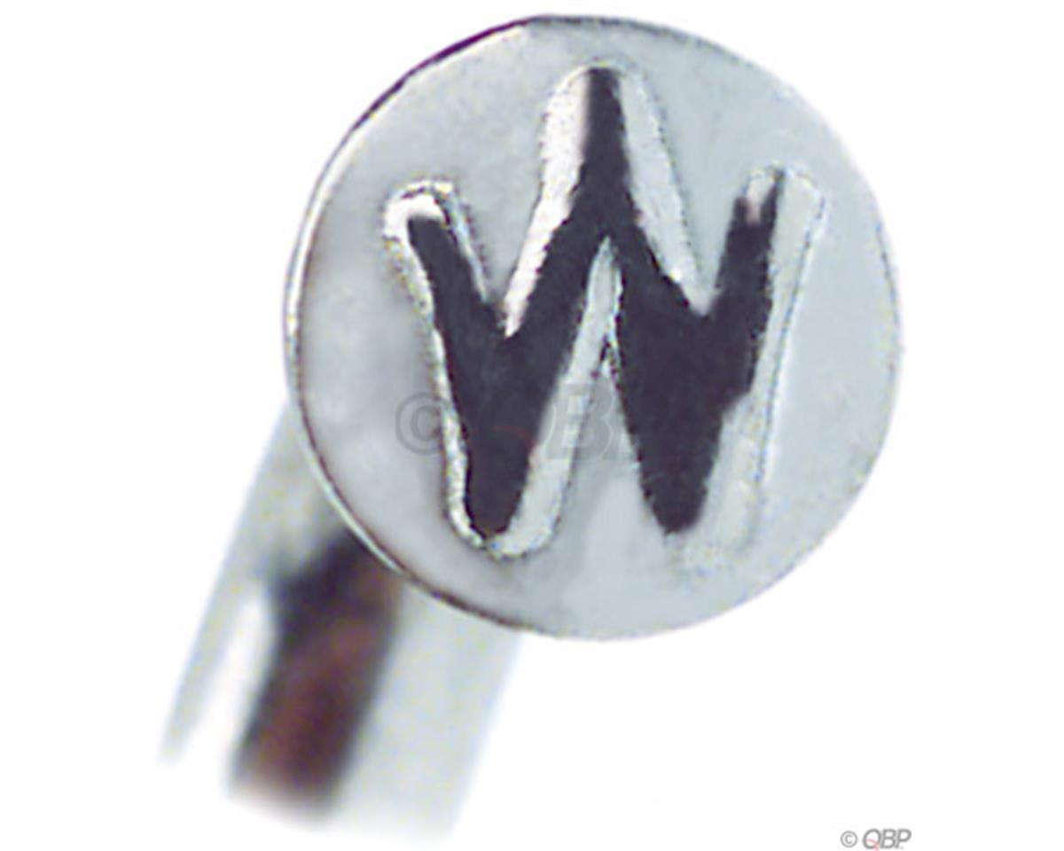 Wheelsmith DB14 Spokes 2.0/1.7 x 298mm Silver, Bag of 50