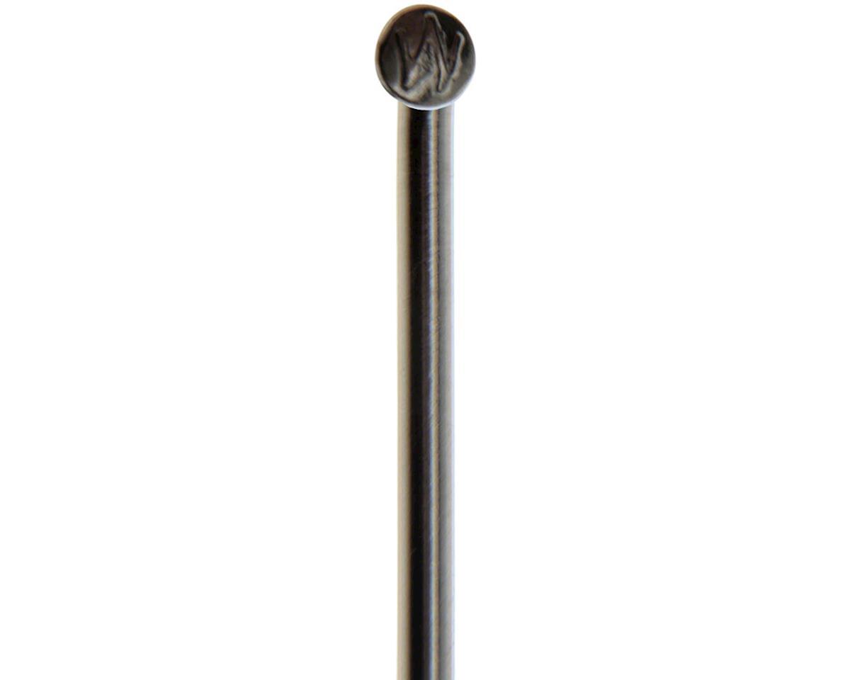 Wheelsmith DB14 Spokes 2.0/1.7 x 274mm Black Spokes, Bag of 50