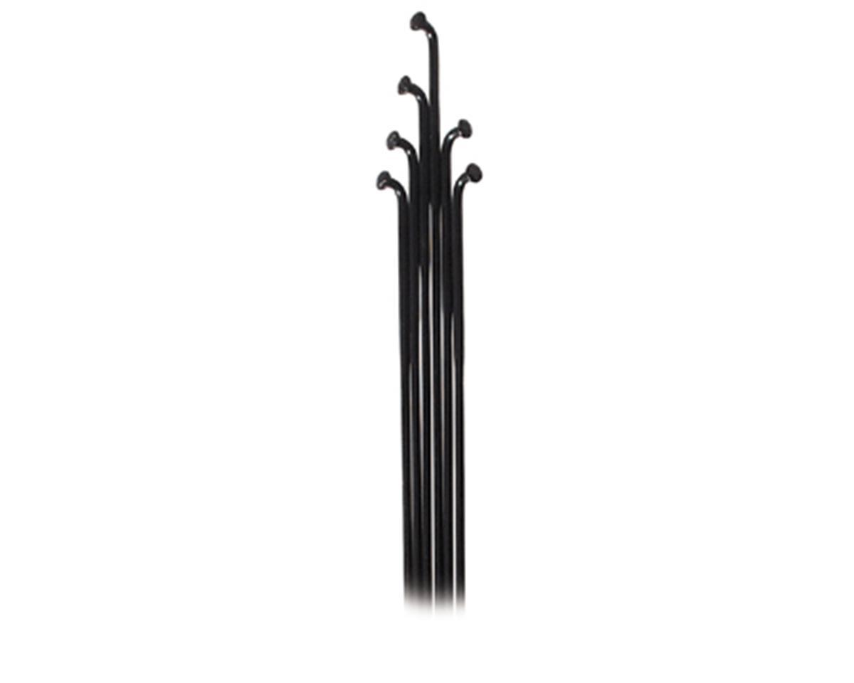 Wheelsmith DB14 Spokes 2.0/1.7 x 295mm Black, Bag of 50