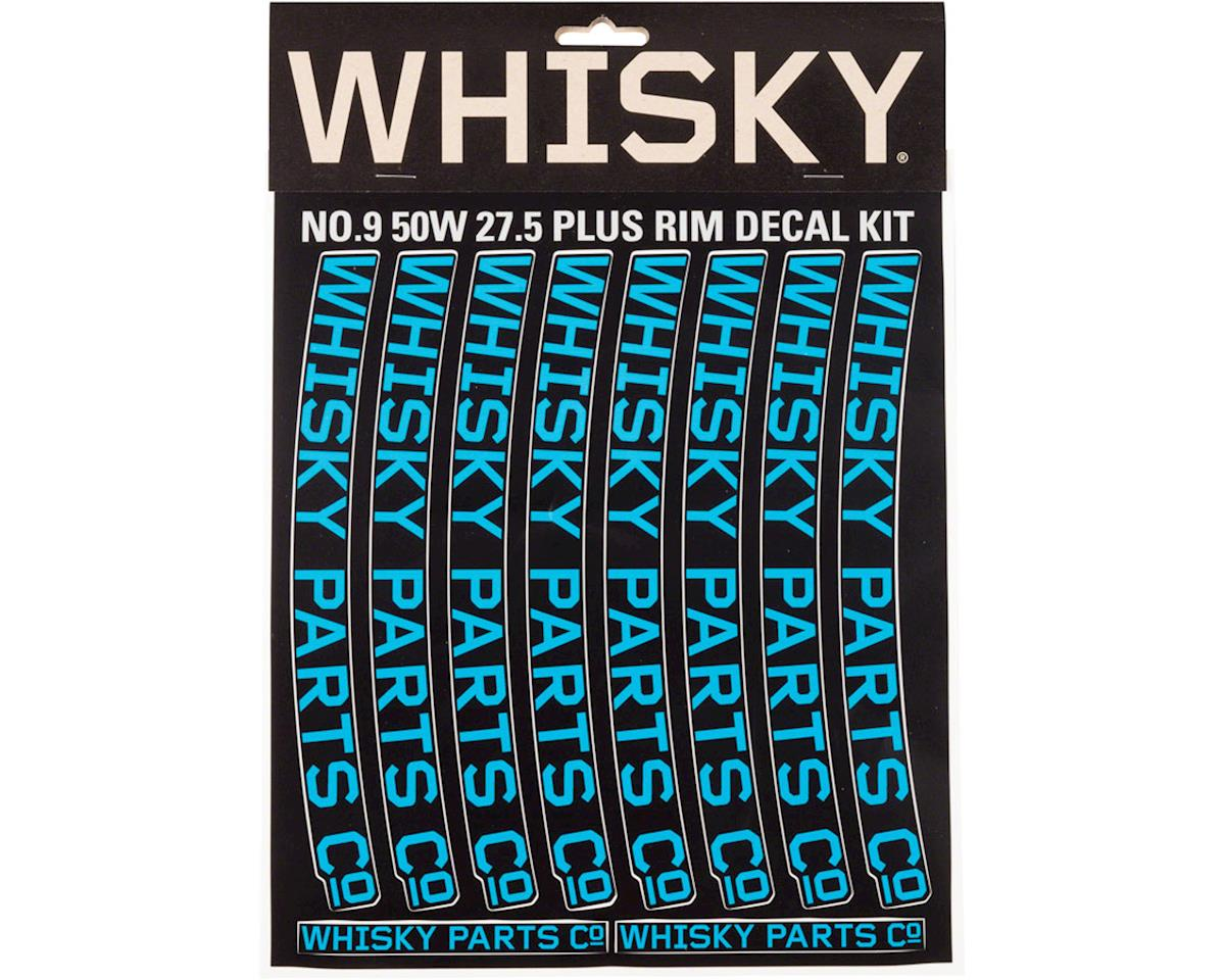 Whisky 50w Rim Decal Kit for 2 Rims Cyan
