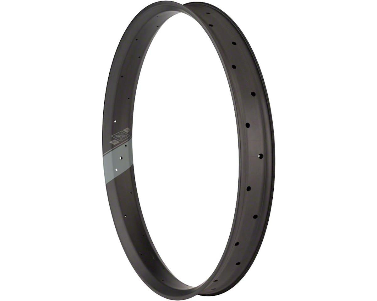 "Whisky No.9 70w Carbon Tubeless 26"" Fat Trail Rim, 32h, Matte Black"