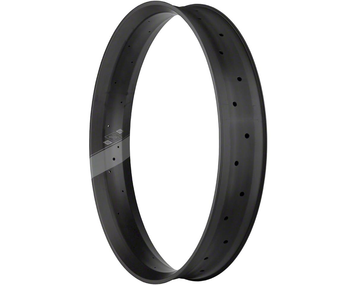 "Whisky No.9 100w Carbon Tubeless 26"" Fat Trail Rim, 32h, Matte Black"