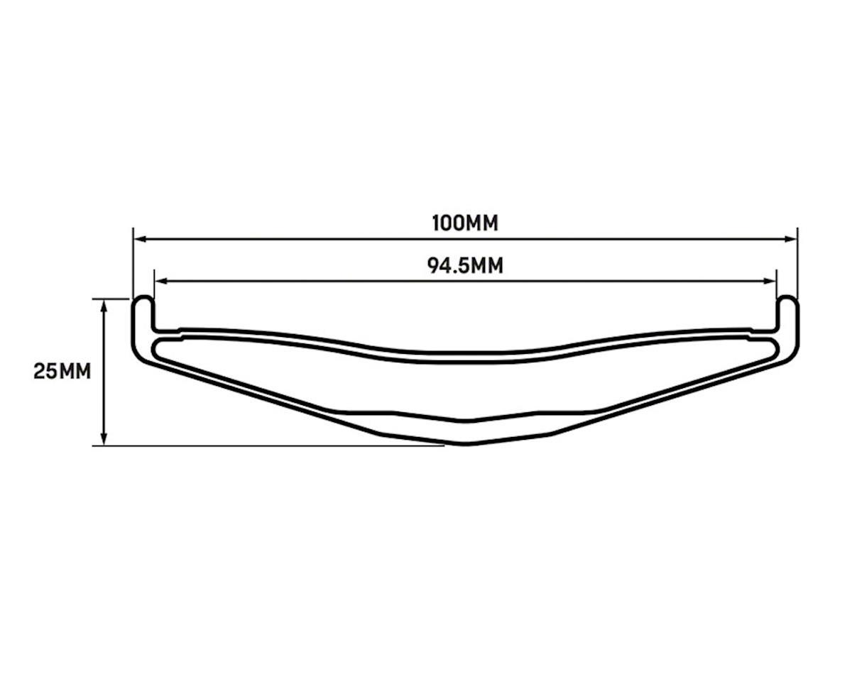 """Whisky Parts Co. No.9 100w Rim - 26"""", Disc, Matte Carbon, 32H"""