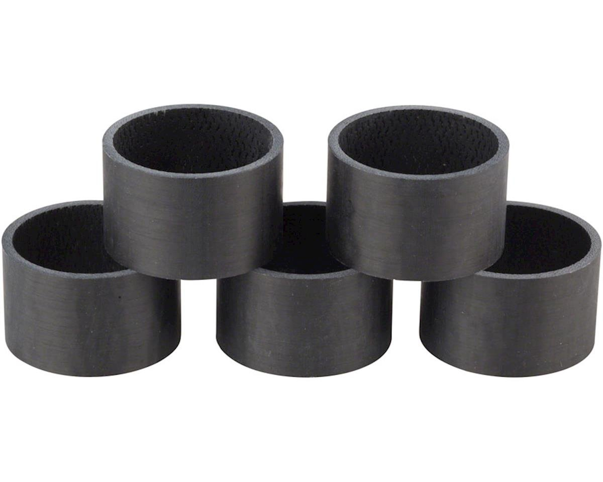 Whisky 20mm UD Carbon Spacer Matte Black 5-pack