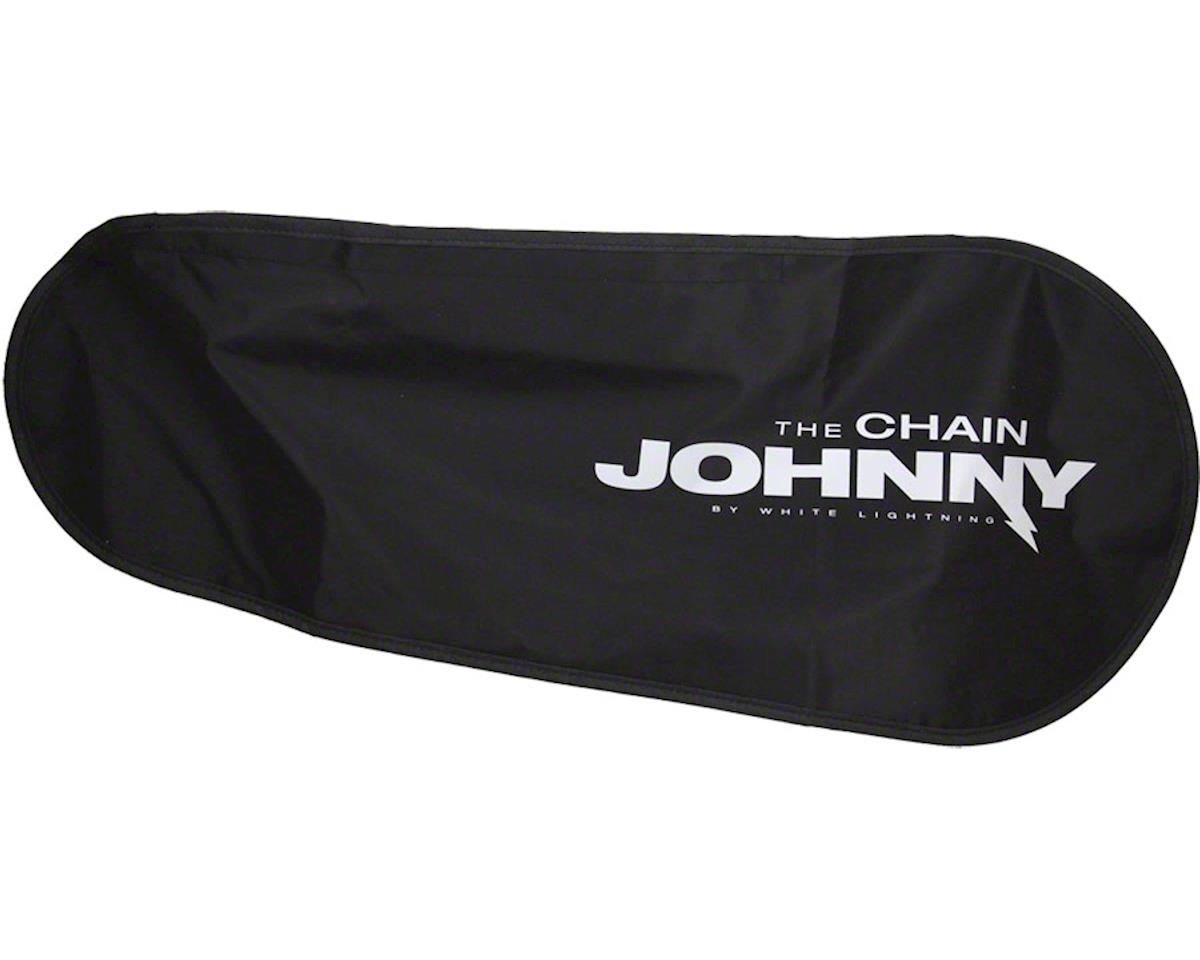 White Lightning Chain Johnny Drivetrain Cover, Black