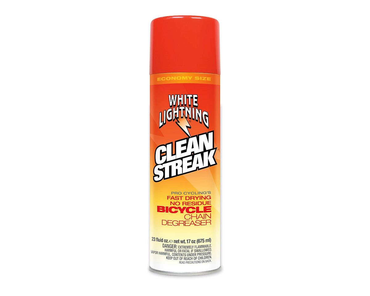 White Lightning Clean Streak Bicycle Chain Degreaser (23 fl. oz)