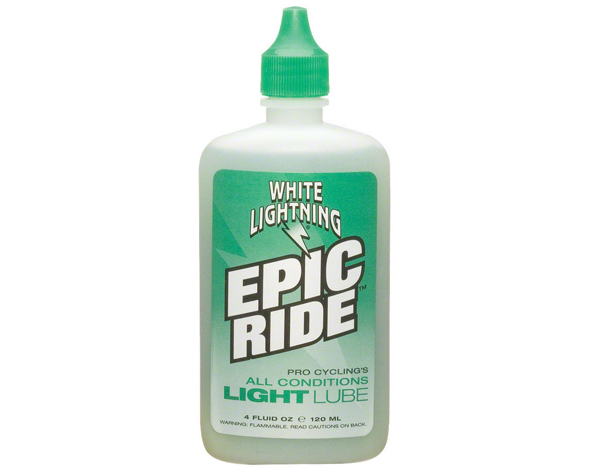 White Lightning EPIC Ride Lubricant Squeeze Bottle (4oz)