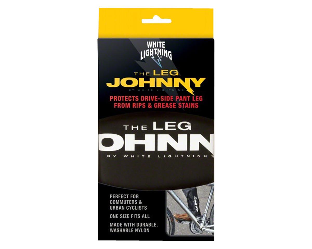 White Lightning Leg Johnny Leg Band (Black)