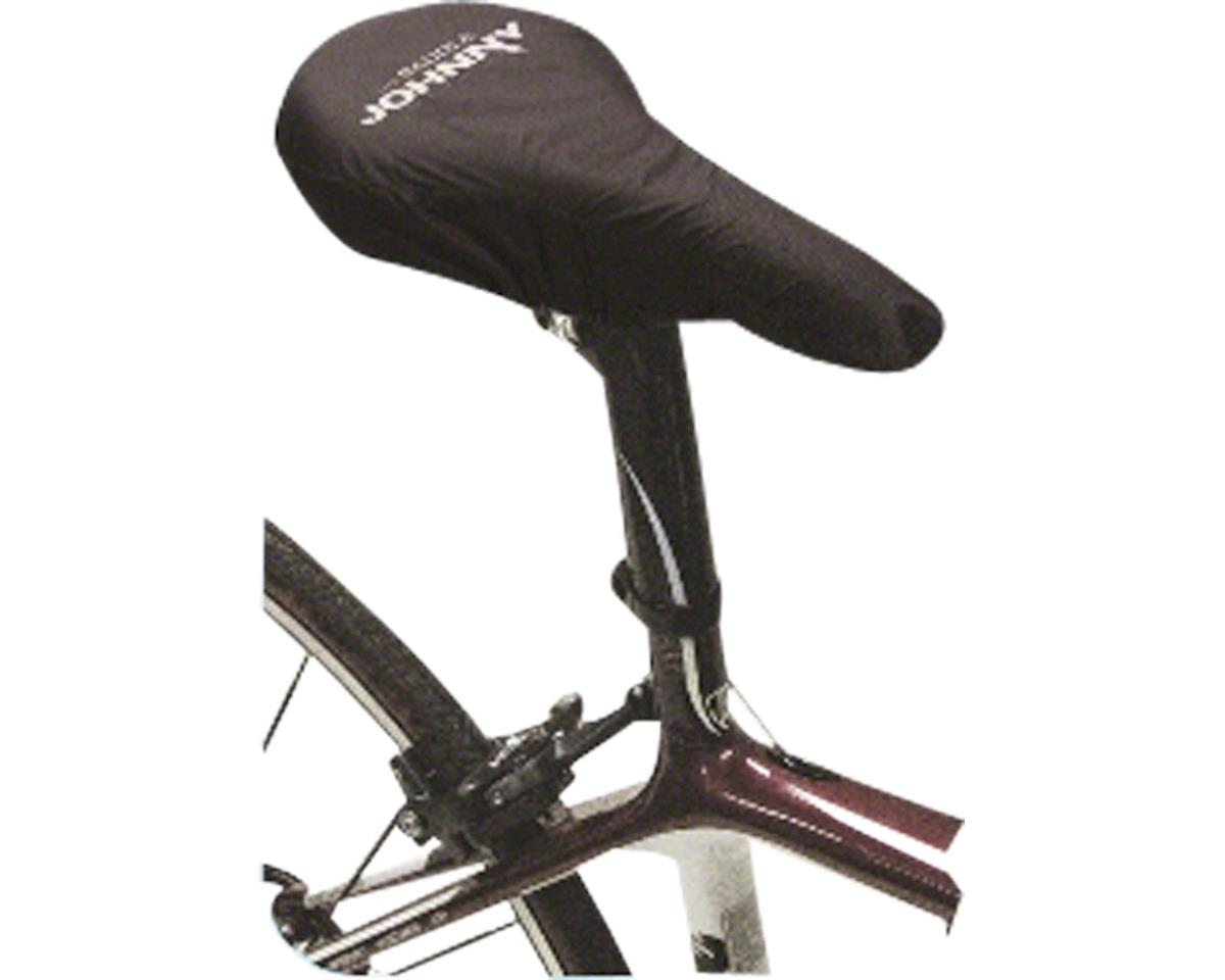 White Lightning Saddle Johnny Seat Cover, Black