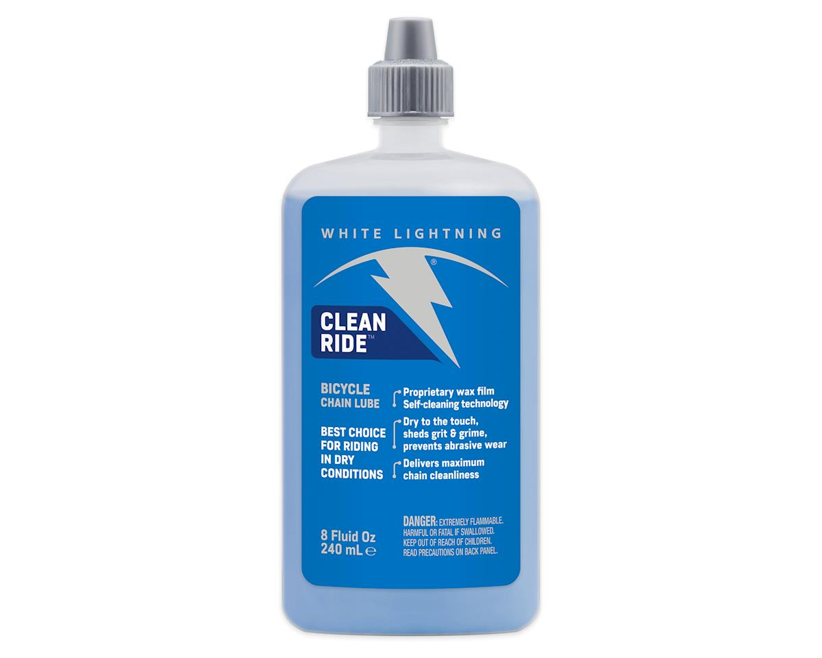 White Lightning Clean Ride Lube 8oz.