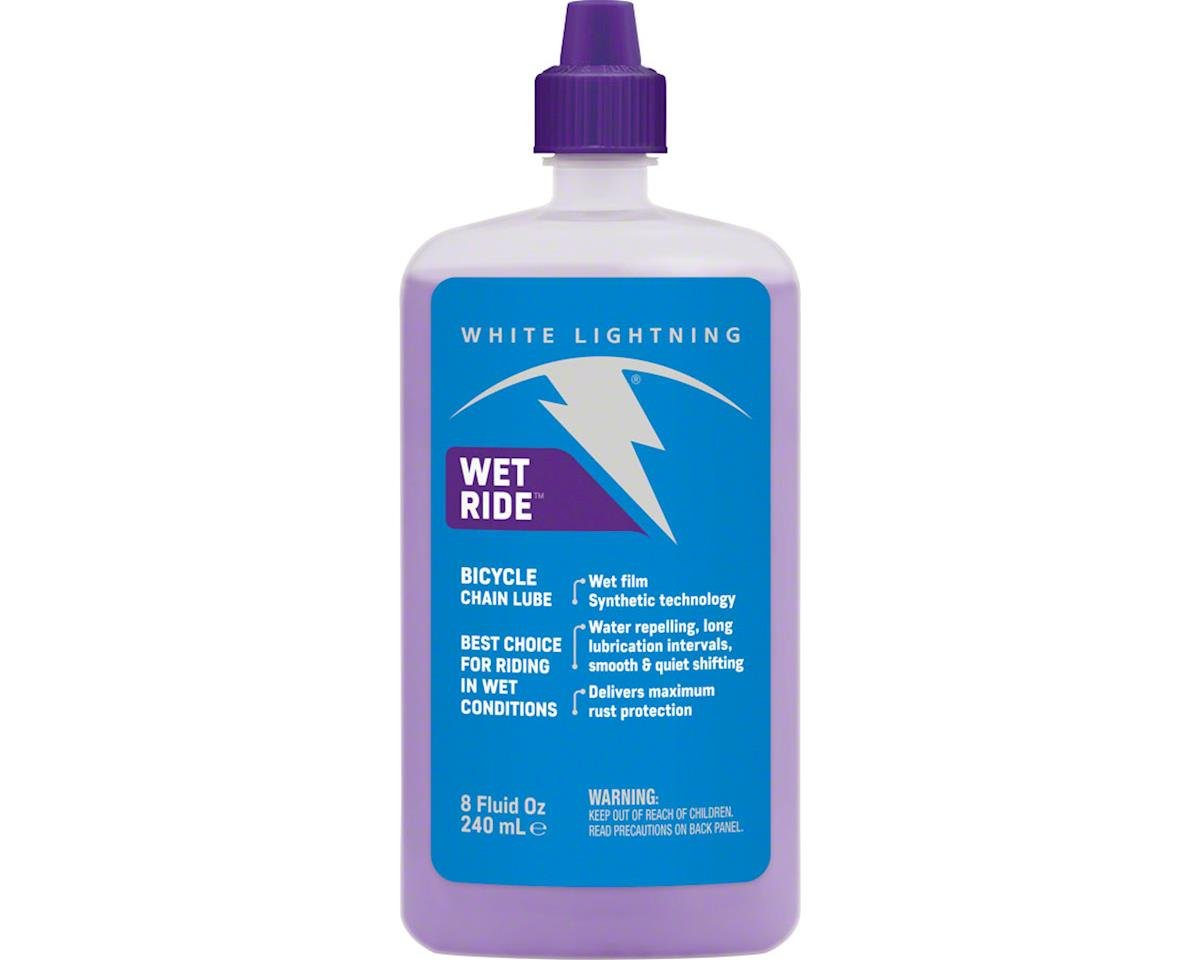 White Lightning Wet Ride Lube, 8oz Drip | alsopurchased