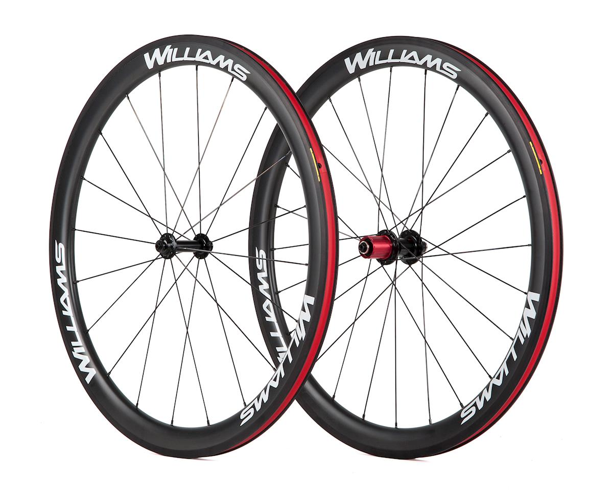 Williams Cycling System 45 Rim Brake Carbon Clincher Wheelset (SRAM/Shimano)