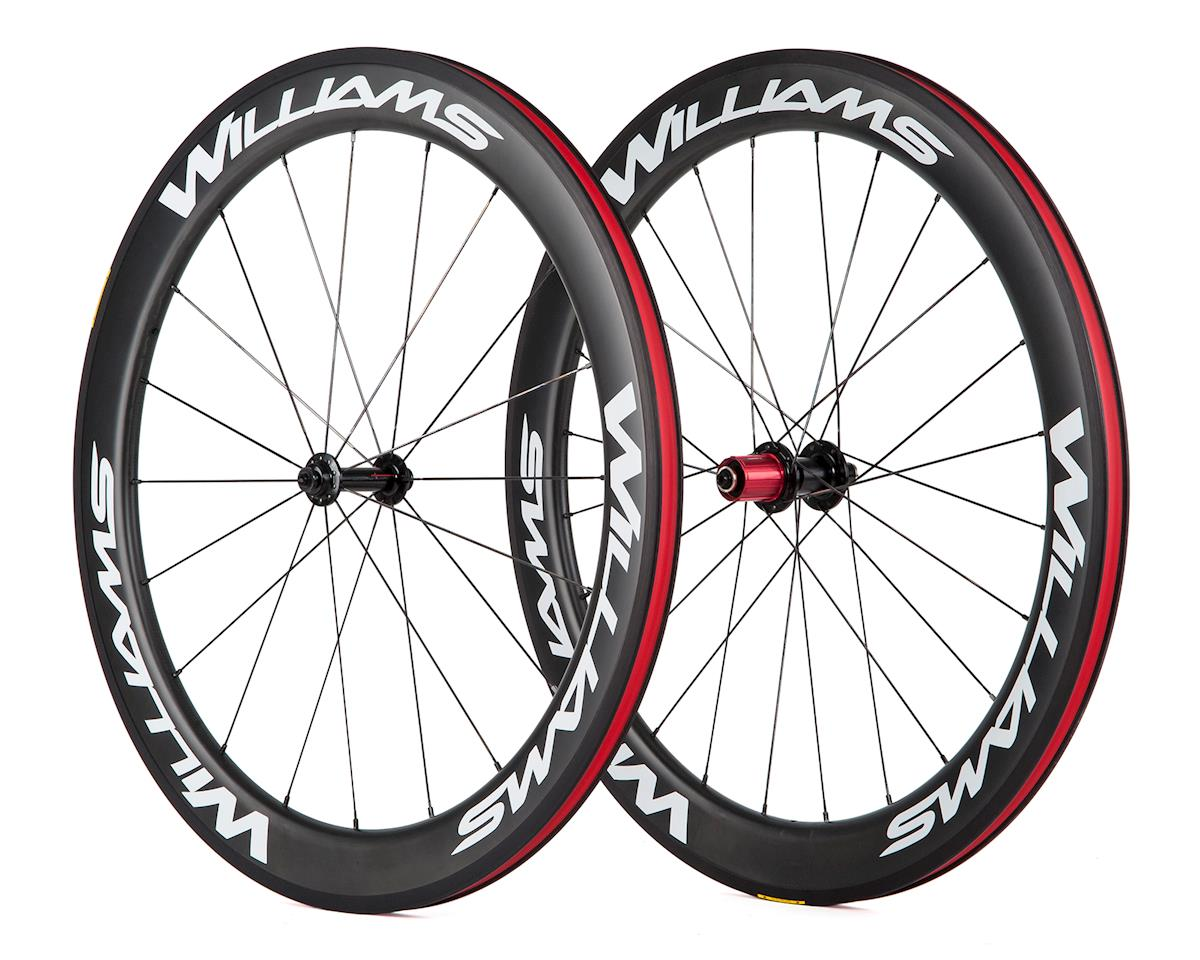 Williams Cycling System 60 Rim Brake Carbon Clincher Wheelset (SRAM/Shimano)