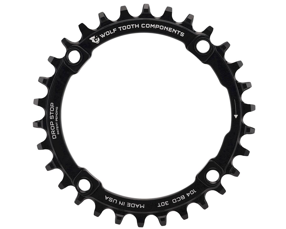 Wolf Tooth Components Drop-Stop Chainring (Black) (104 BCD)