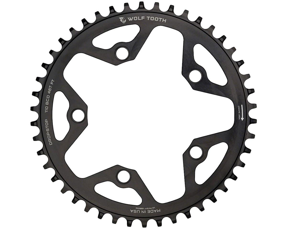 Wolf Tooth Components CX/Road Chainring (36T) (110BCD) (5 Bolt) (Black)