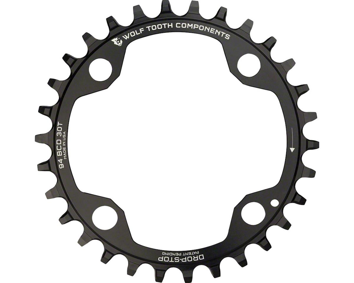 Wolf Tooth Components Drop-Stop Chainring (94BD) (4-Bolt) (30T)