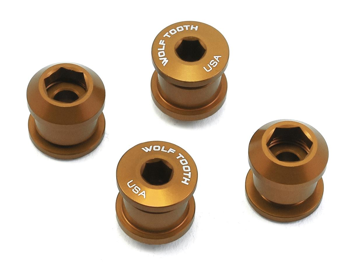 Wolf Tooth Components Chainring Bolt: 1x 6mm Dual Hex Fittings (Gold) (4ct)