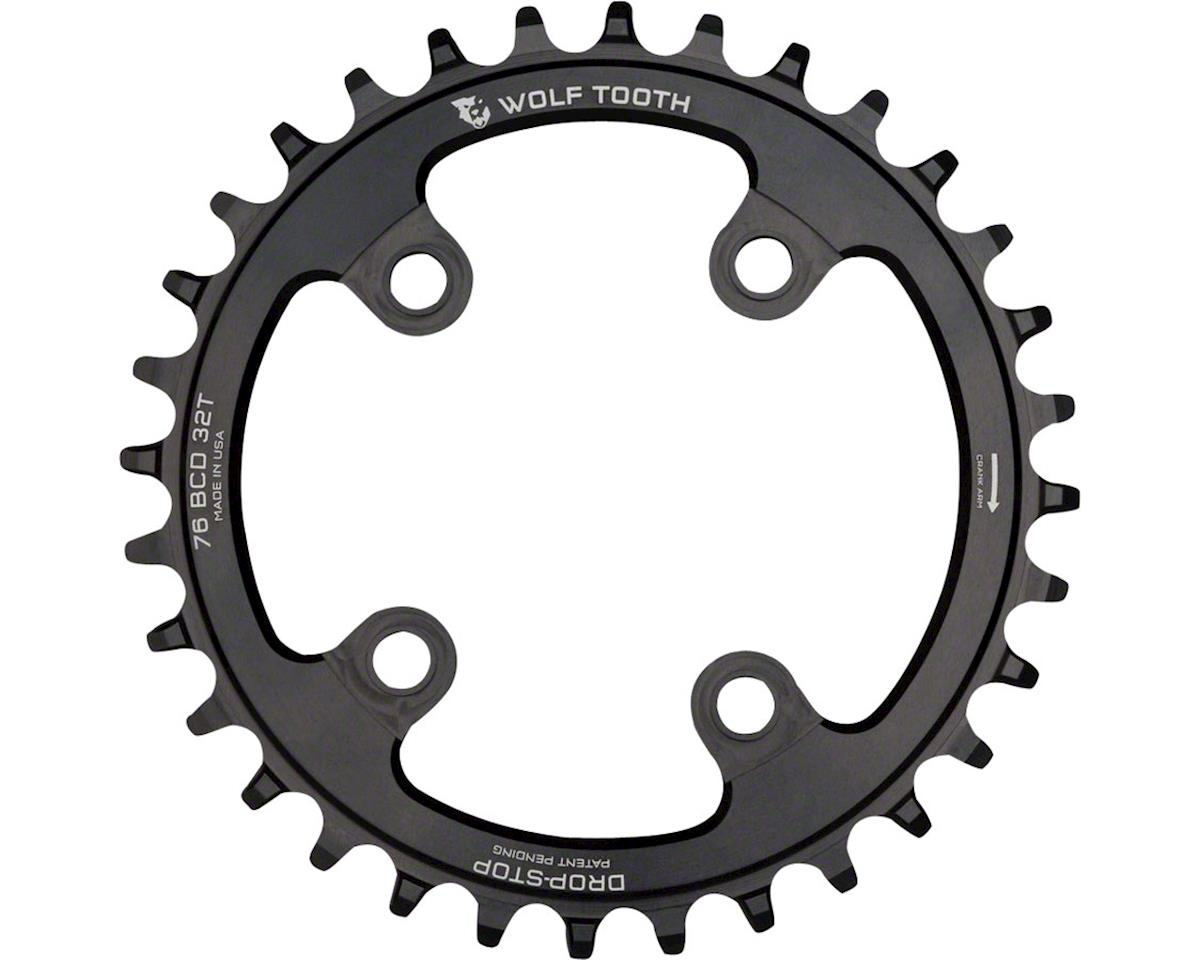 Wolf Tooth Components Drop-Stop Chainring (76BCD) (32T)