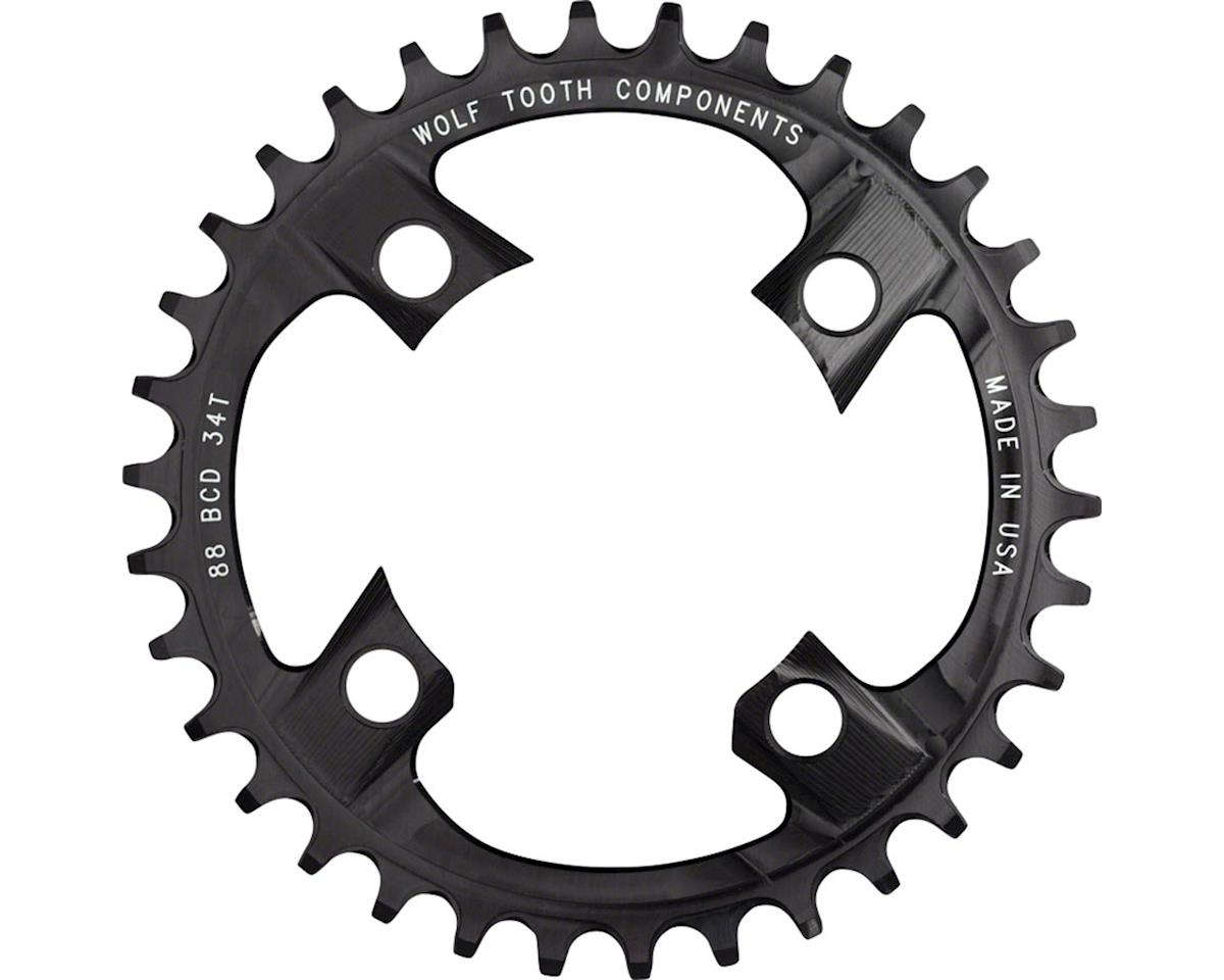 Wolf Tooth Components Drop-Stop Chainring (88BCD) (38T)