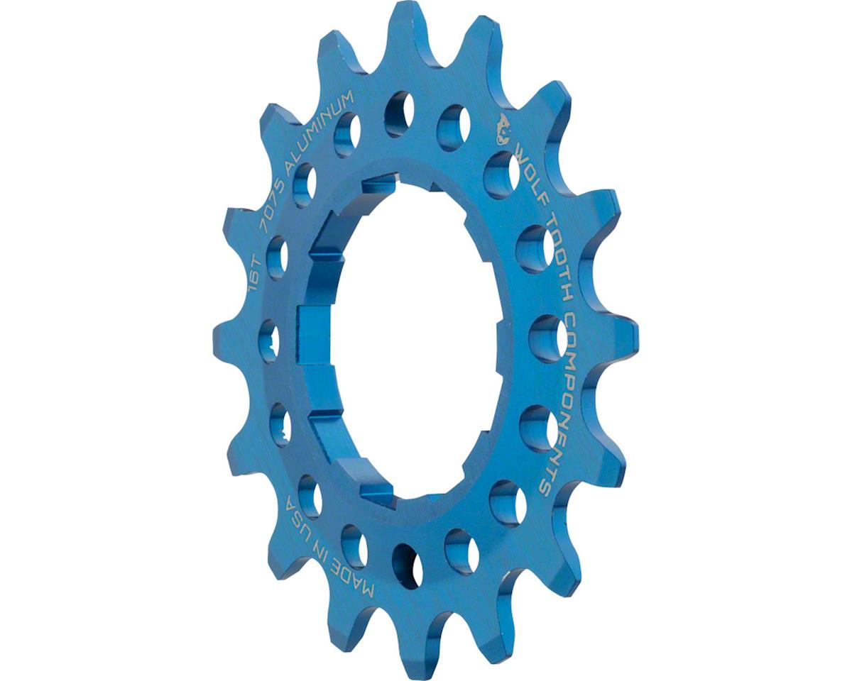 Wolf Tooth Components Single Speed Aluminum Cog (Blue) (16T)