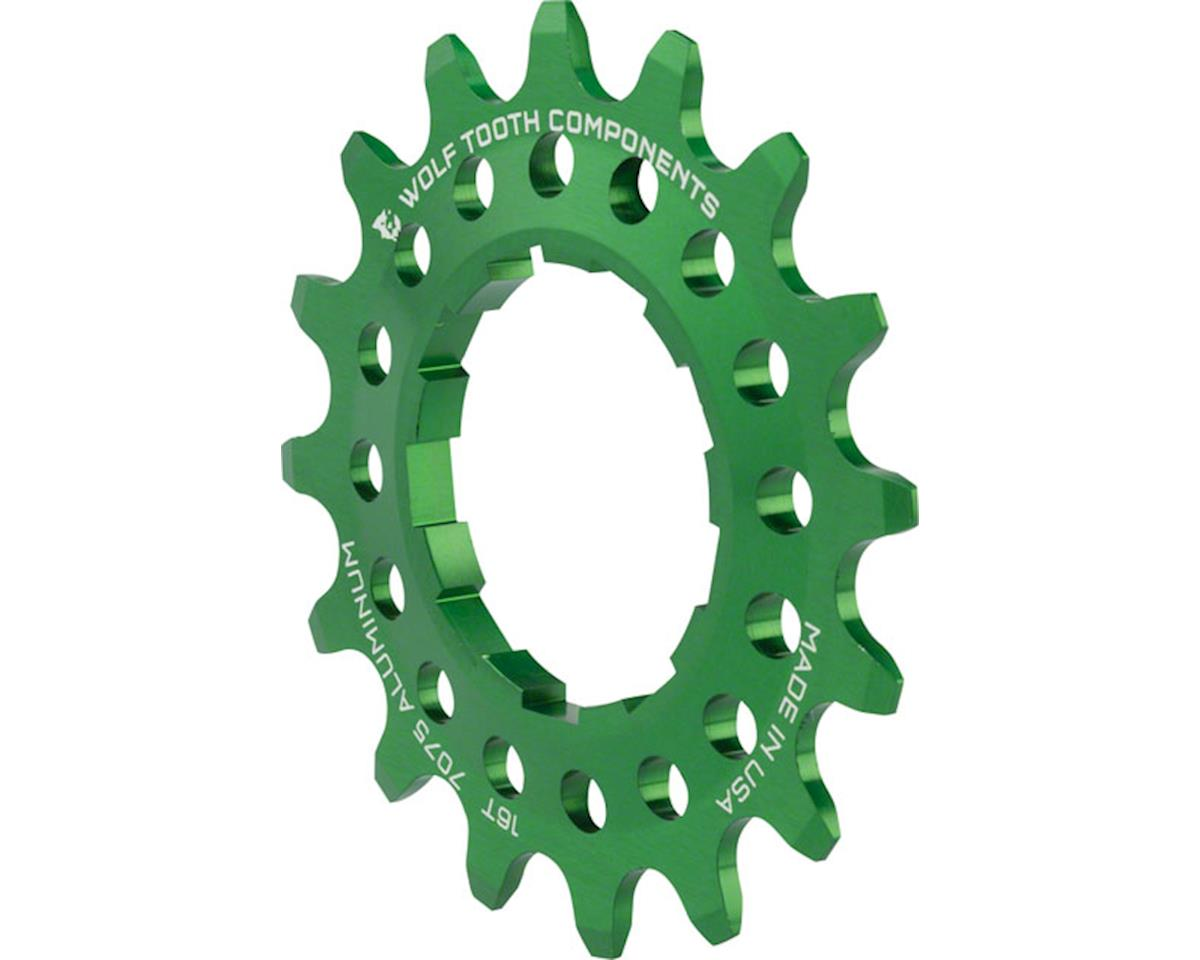 Wolf Tooth Components Single Speed Aluminum Cog (Green) (16T)