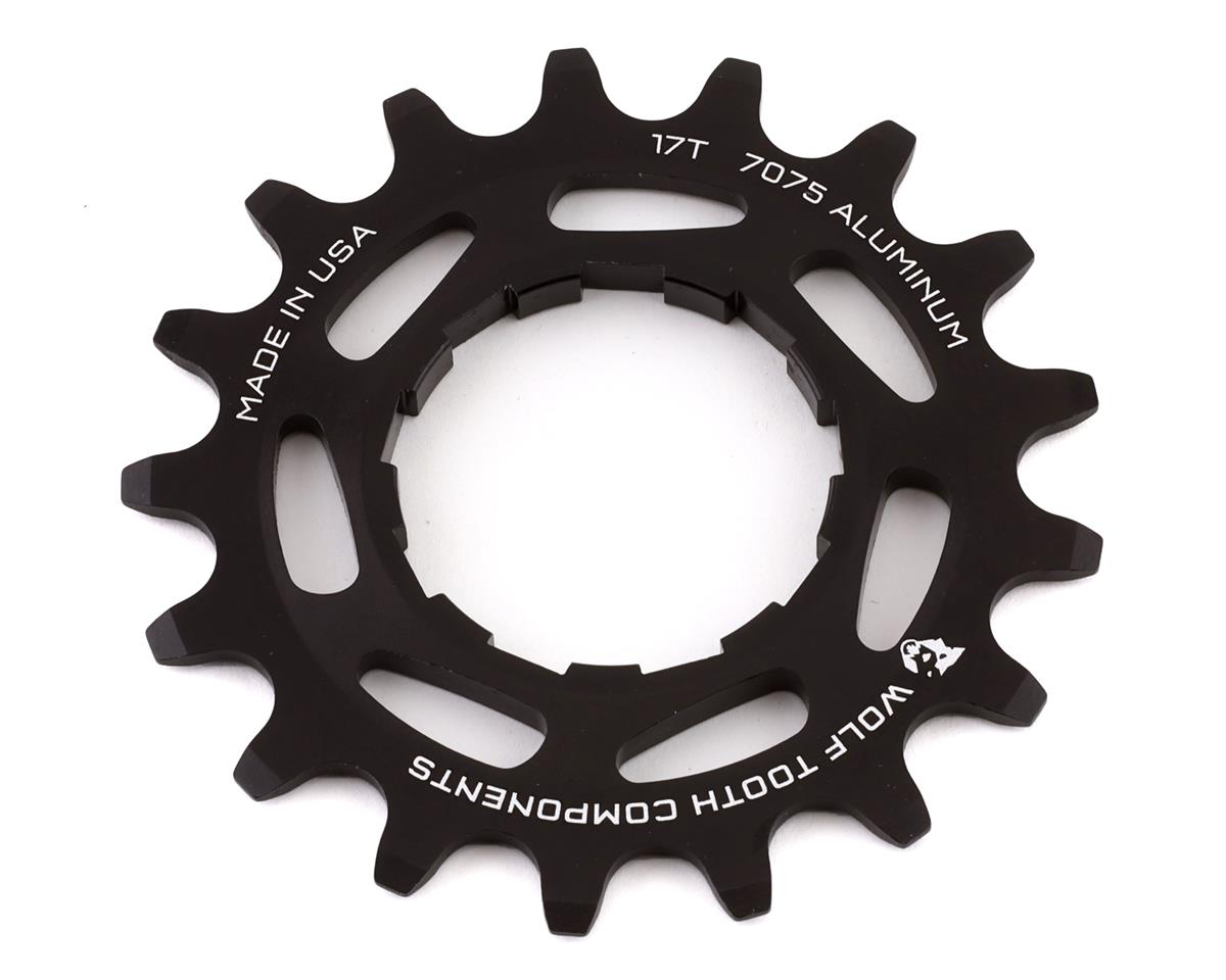 Wolf Tooth Components Single Speed Aluminum Cog (Black) (17T)
