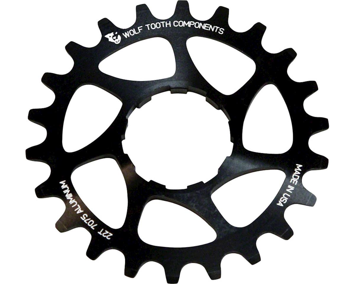 Wolf Tooth Components Single Speed Aluminum Cog (Black) (18T)