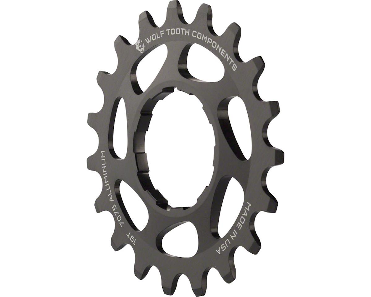 Wolf Tooth Components Single Speed Aluminum Cog (Black) (19T)