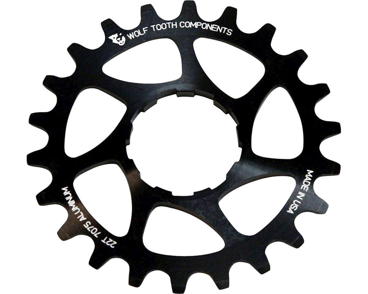 Wolf Tooth Components Single Speed Aluminum Cog (Black) (20T)